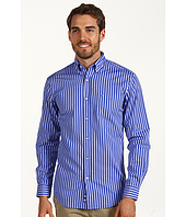 Lacoste - L/S Poplin Regular Fit Button Down Bold Stripe Woven Shirt
