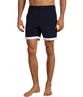 Lacoste - Retro Piped Swim Trunk 8