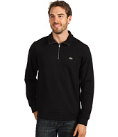 Lacoste - 1/2 Zip Interlock Lightweight Sweatshirt
