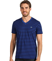 Lacoste - S/S V-Neck Striped T-Shirt