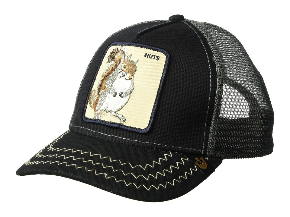 Goorin Brothers - Animal Farm Squirrel Master (Navy) Caps