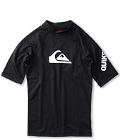 Quiksilver Kids - All Time S/S Rashguard (Little Kids/Big Kids)