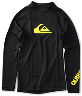 Quiksilver Kids - All Time L/S Rashguard (Little Kids/Big Kids)