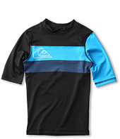 Quiksilver Kids - No Frills S/S Rashguard (Little Kids/Big Kids)