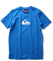 Quiksilver Kids - Solid Streak S/S Rashguard (Little Kids/Big Kids)