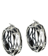 Bottega Veneta - Silver Hoop Earrings