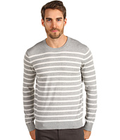Vince - Long Sleeve Striped Crew Neck
