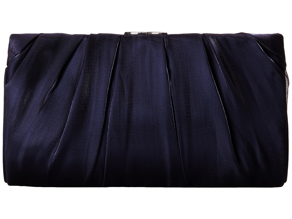 Nina - Larry (Navy) Clutch Handbags