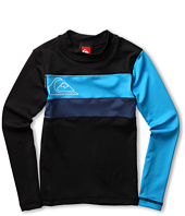 Quiksilver Kids - No Frills L/S Rashguard (Little Kids/Big Kids)