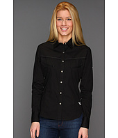 Rock and Roll Cowgirl - Womens L/S Snap Top W/Embroidery