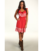 Rock and Roll Cowgirl - Sleeveless Ruffle Dress