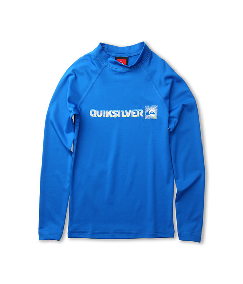 Shop Quiksilver Kids - Phaser L, S Rashguard Little Kids, Big Kids Aster Blue  and Quiksilver Kids online - Boys, Clothing, Swimwear, Swimsuit Tops online Store