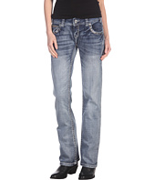 Rock and Roll Cowgirl - Low Rise Boot Cut Jean in Dark Wash