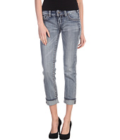 Rock and Roll Cowgirl - Low Rise Crop Jean in Light Wash