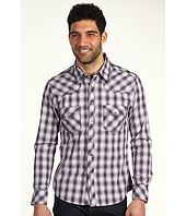 Rock and Roll Cowboy - Men's L/S Snap Shirt w/ Contrast Stitch