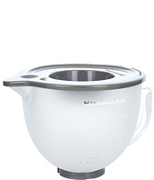 KitchenAid - K5GBF 5-Quart Tilt-Head Frosted Glass Bowl with Lid