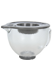 KitchenAid - K5GBH 5-Quart Tilt-Head Hammered Glass Bowl with Lidring spout, lid