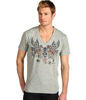 Just Cavalli - Fluorescent Flame V-Neck Tee