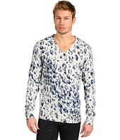 Just Cavalli - Running Leo Print V-Neck Pullover
