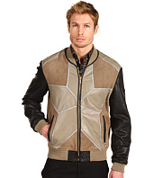 Just Cavalli - Star Leather Jacket