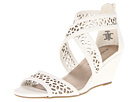 Madden Girl - Hippiee (White Paris) - Footwear