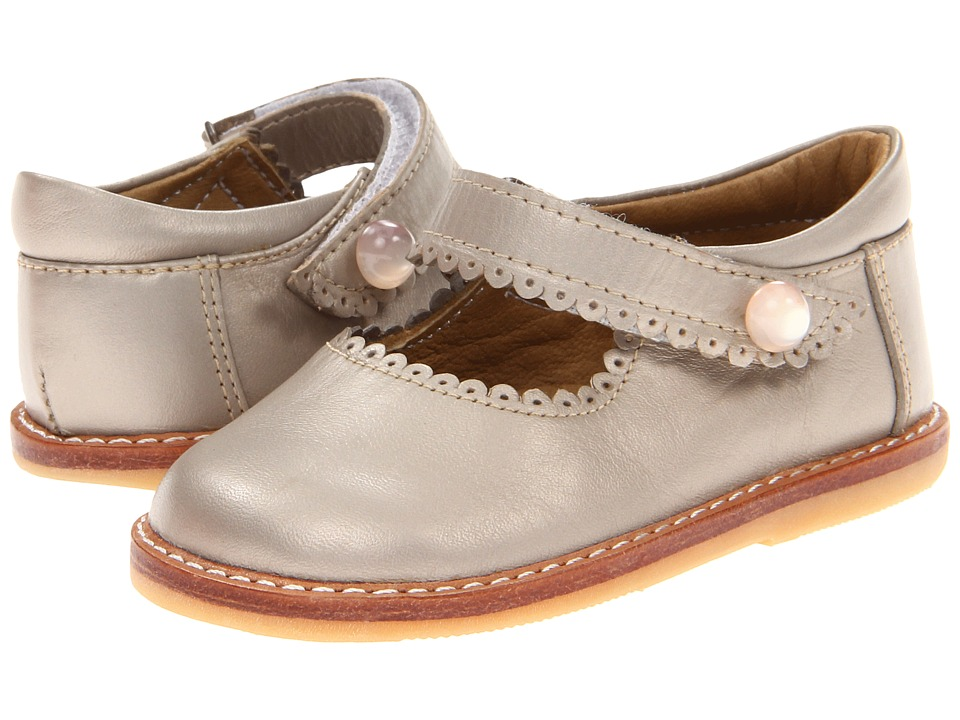 Elephantito Mary Jane Toddler Champagne Girls Shoes