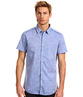 Just Cavalli - Canvas Cotton Short Sleeve Button Up