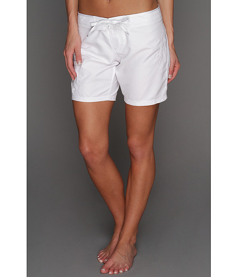 Shop Body Glove online and buy Body Glove Surfer Boardshort 3 White Swimwear - Body Glove - Surfer Boardshort 3 (White) - Apparel: Simply chic performance and style from Body Glove. ; Microfiber boardshort flaunts hook-and-loop waist and adjustable tie closures. ; Solid design for a striking look. ; Large tonal logo embroidery at left hip. ; Hook-and-loop patch pocket at right leg with tonal logo tag. ; 100% polyester. ; Machine wash cold, tumble dry low. ; Imported. Measurements: ; Waist Measurement: 30 in ; Outseam: 14 in ; Inseam: 8 in ; Front Rise: 8 in ; Back Rise: 12 in ; Leg Opening: 20 in ; Product measurements were taken using size SM. Please note that measurements may vary by size. ; If you're not fully satisfied with your purchase, you are welcome to return any unworn and unwashed items with tags intact and original packaging included.