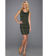 BCBGMAXAZRIA - NEA Scoop Back Print Cover Up