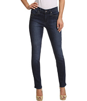 Calvin Klein Jeans - Ultimate Skinny Ankle Roll w/ Embroidery in Dark Wash