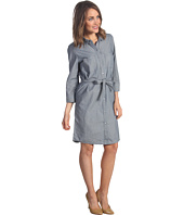 Calvin Klein Jeans - Fitted Micro Stripe Shirt Dress