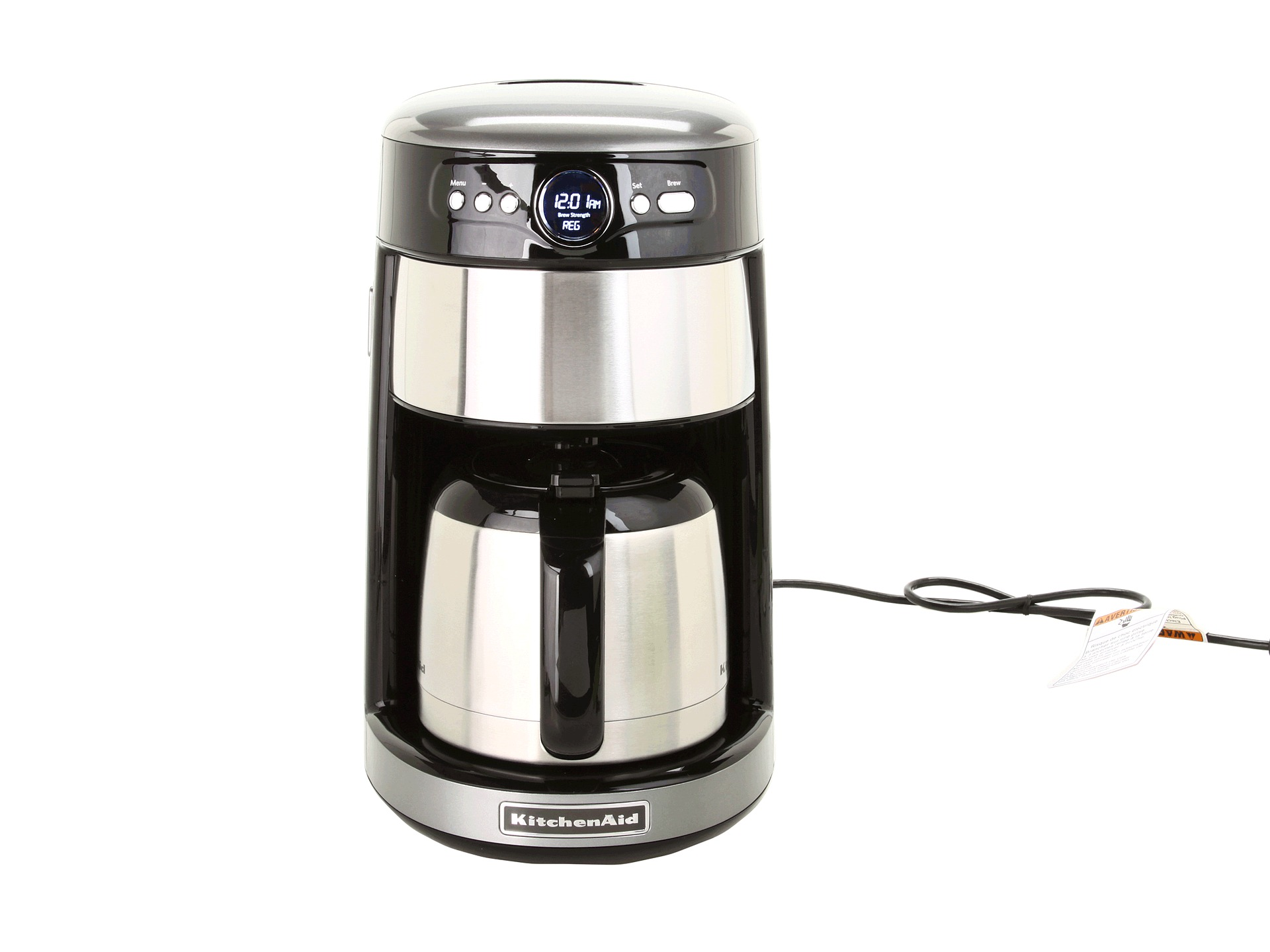 Kitchenaid Coffee Maker New : Kitchenaid 12 Cup Thermal Coffee Maker Shipped Free at Zappos