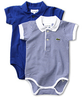 Lacoste Kids - Boys' Pique Polo Bodysuit Gift Set
