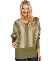 Christin Michaels - Lalita Striped Sweater