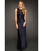ABS Allen Schwartz - Round Neck Sleeveless Seam Detail Gown