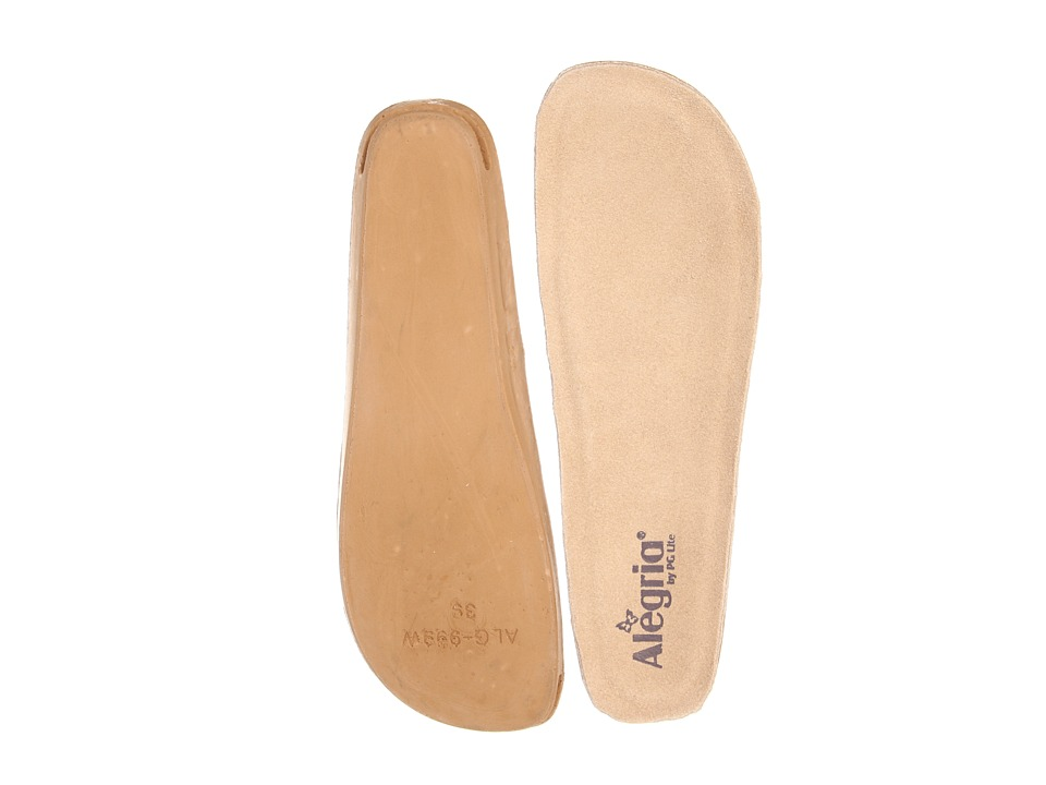 Alegria Wide Replacement Insole (Tan) Women's Insoles Accessories Shoes