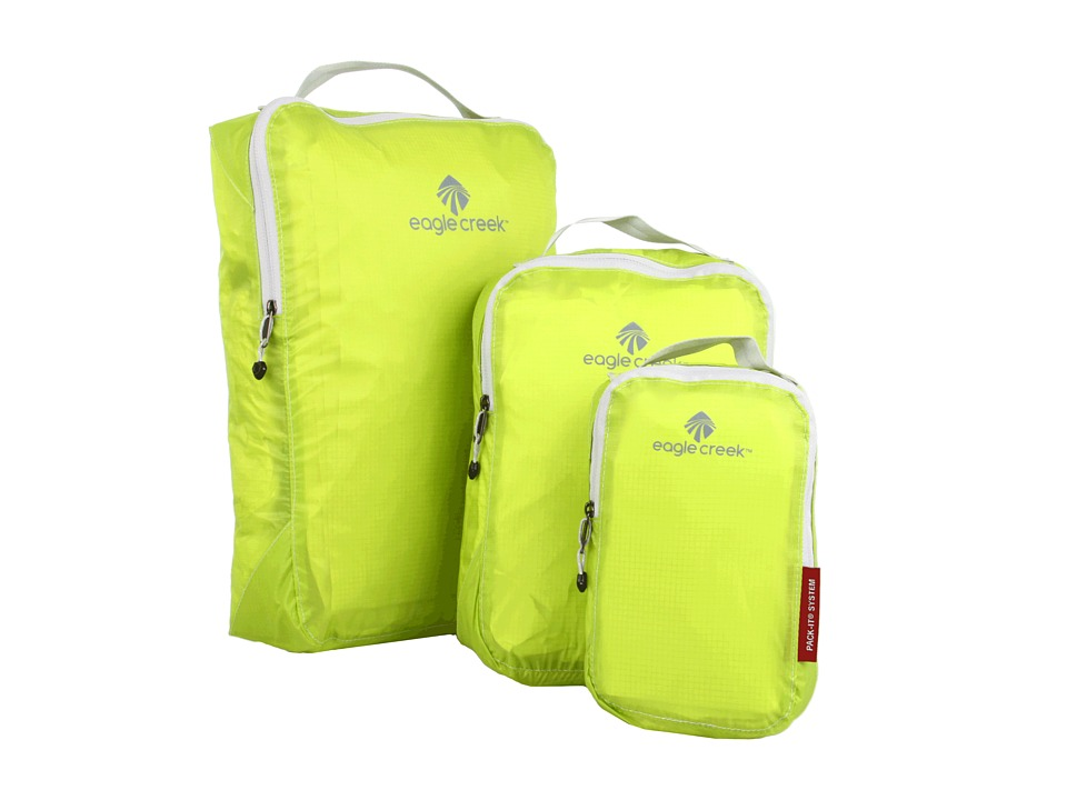 Eagle Creek - Pack-It Specter Cube Set (Strobe Green) Travel Pouch