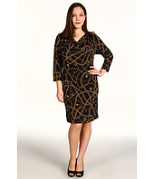 MICHAEL Michael Kors Plus - Hamilton Chain Shoulder Dress