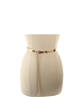 Anne Klein - Anne Klein Elongated Metal Chain Belt