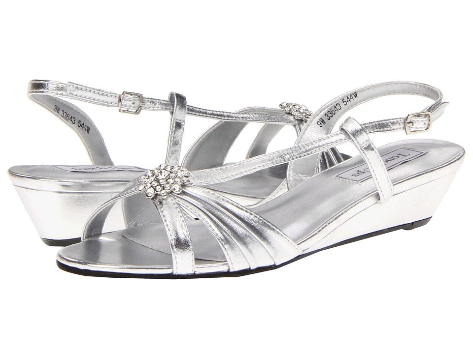 Touch Ups - Geri (Silver Metallic) Womens Shoes