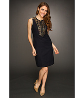 MICHAEL Michael Kors - Doubleface Grommet Embroidered Dress