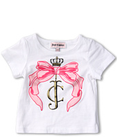 Juicy Couture Kids - Pink Ribbon Tee (Infant)