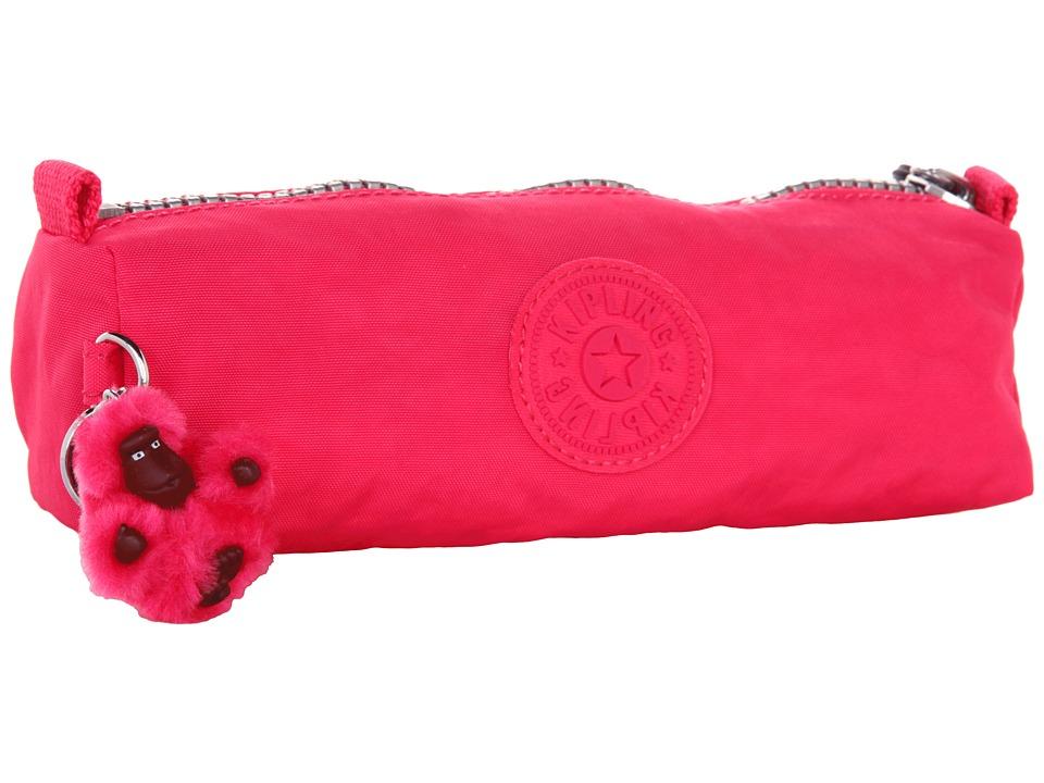 Kipling Fabian Cosmetic Bag / Pen Case Vibrant Pink Cosmetic Case