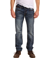 Mek Denim - Luther Straight Leg Jean in Zigg Medium Wash