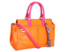 Rafe New York - Roopal Satchel (Orange/Fuschia)