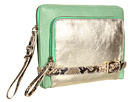 Rafe New York - Tina Clutch (Mint/Gold)