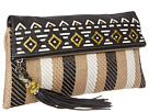 Rafe New York - Anh Fold over Clutch (Black/White)