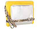 Rafe New York - Tina Clutch (Lemon/Silver)
