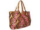 Rafe New York - Playa Tote (Pink Snake)
