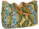 Rafe New York - Playa Tote (Green Snake)